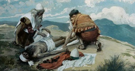 The Death of Aaron by James Jacques Joseph Tissot (1836-1902)