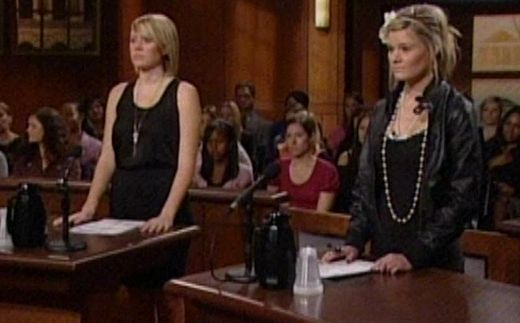 JUDGE JUDY - NIP AND TUCK SISTERS - Episode aired April 20, 2010