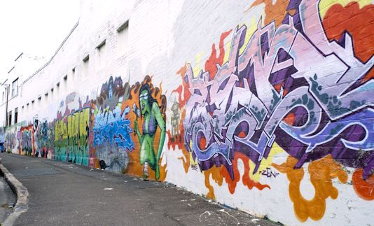 Graffiti is one of the few tools you have if you have almost nothing. And even if you don't come up with a picture to cure world poverty you can make someone smile while they're having a piss. ~ Banksy