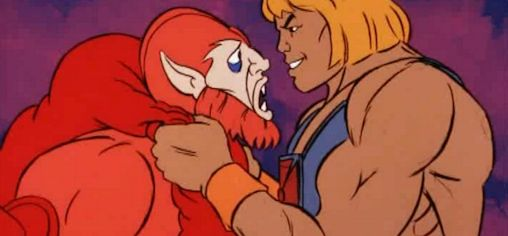 He-Man confronts Beast Man (1983)