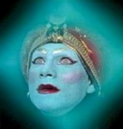 Jambi: 'The wish is granted. Long live Jambi.'                 Pee-wee: 'Thanks Jambi!'