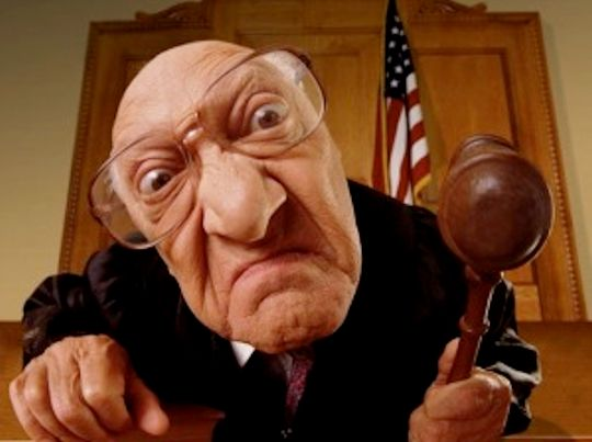Angry Judge is angry.