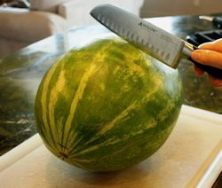 Best way to cut a watermelon.