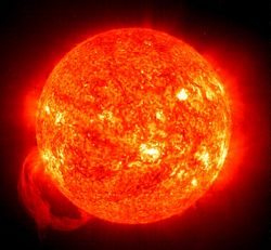 The Sun is a mass of fiery stone, a little larger than Greece. ~ Anaxagoras 434 BCE