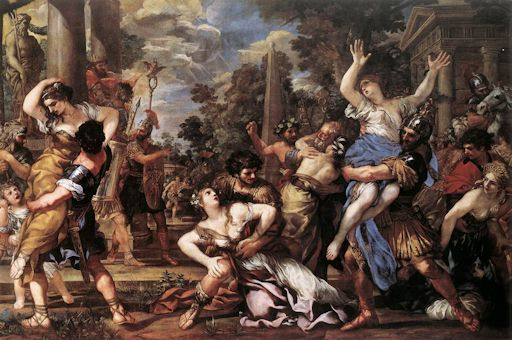 The Rape of the Sabine Women - Pietro da Cortona (1596–1669)