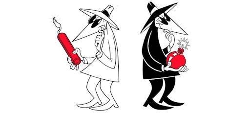 Spy vs. Spy, Antonio Prohías, Mad Magazine 1961.