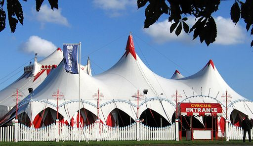 Circus Tents for Hire; tent-designs.com