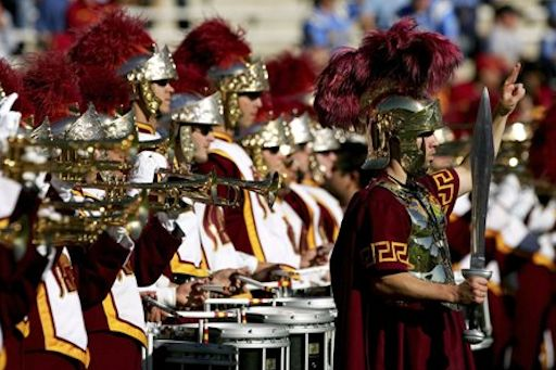 USC Marching Band Desktop Wallpaper